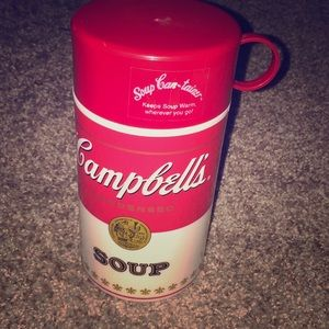 Campbell's soup can-tainer